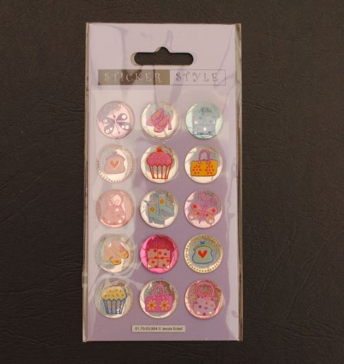 Sticker Pack 2 Cupcakes