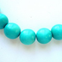 turquoise 15mm beads