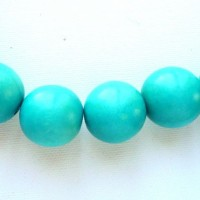 turquoise 20mm beads