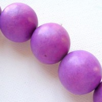 purple 25mm beads