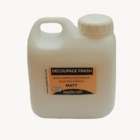 500ml decoupage finish matt