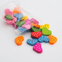 heart with dots - 30 pack
