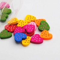 heart with dots - 20 pack
