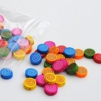 round with spirals - 100 pack