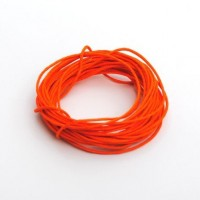 cotton wax cord - 5m orange