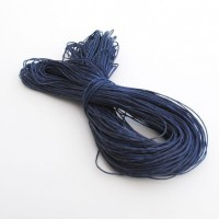 cotton wax cord - 50m navy