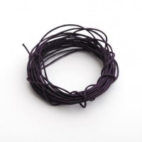 cotton wax cord - 5m purple