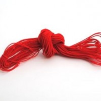elastic cord - 27m red