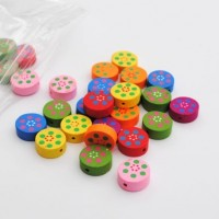 round with dot flower - 30 pack
